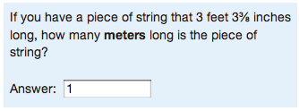 Numerical question example