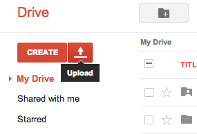 how to upload raw photos to google drive