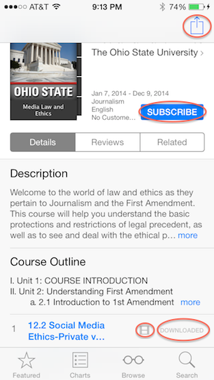 itunesu-course