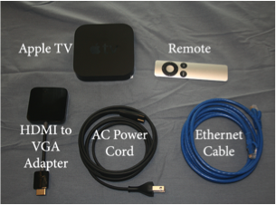Set Up Apple TV and Configure for Wireless Screen Sharing   UMass