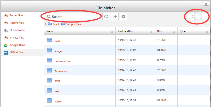 Upload Files From Your Umass Box Account To Moodle Umass Amherst