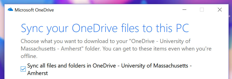 How to Move Documents to a new OneDrive Account | UMass