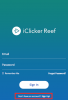 iClicker Reef login page