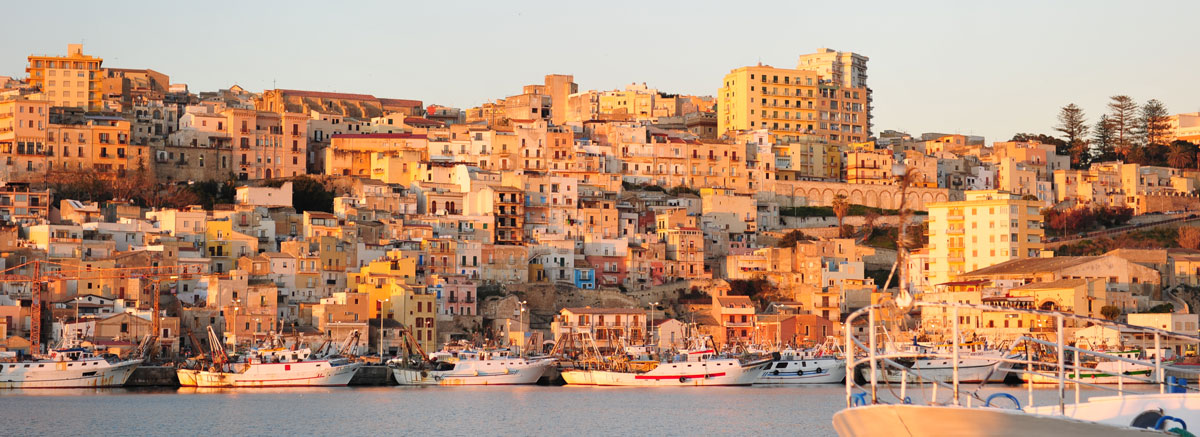 Sciacca town in the province of Agrigento on the southwestern coast of Sicily.