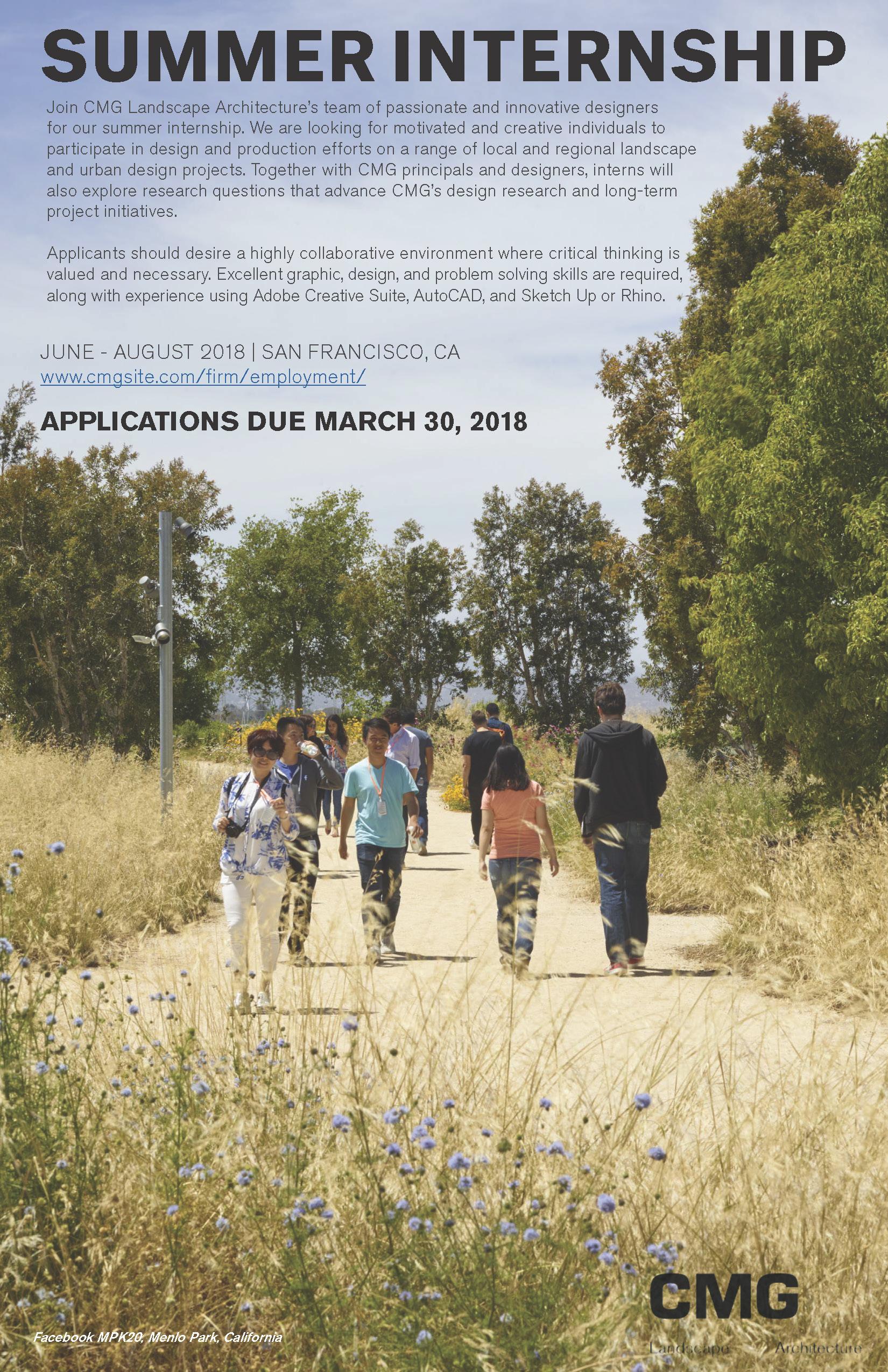 internships umass jobs summer internship landscape architecture amherst
