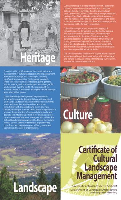 CLM certificate brochure