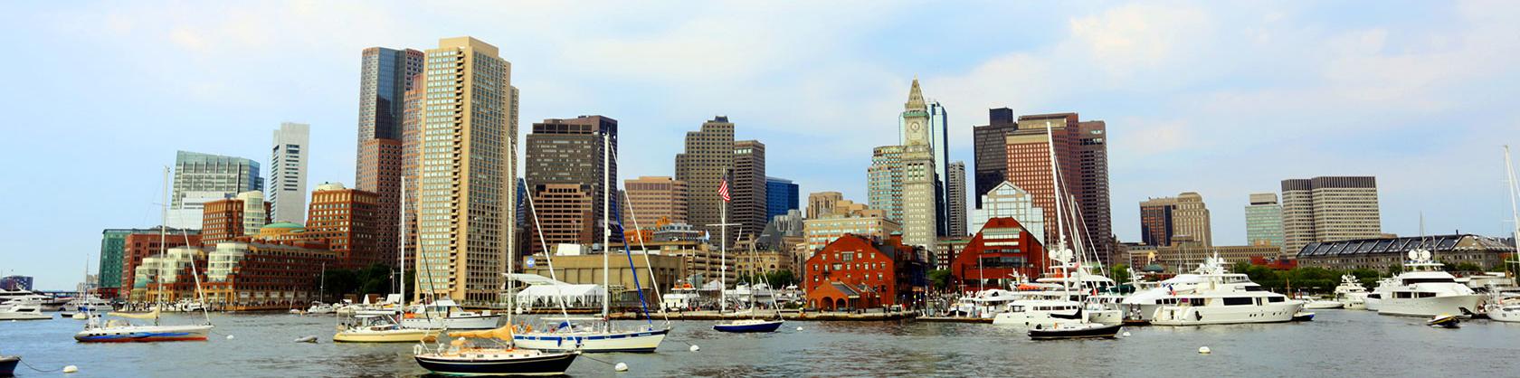 image of boston harbor