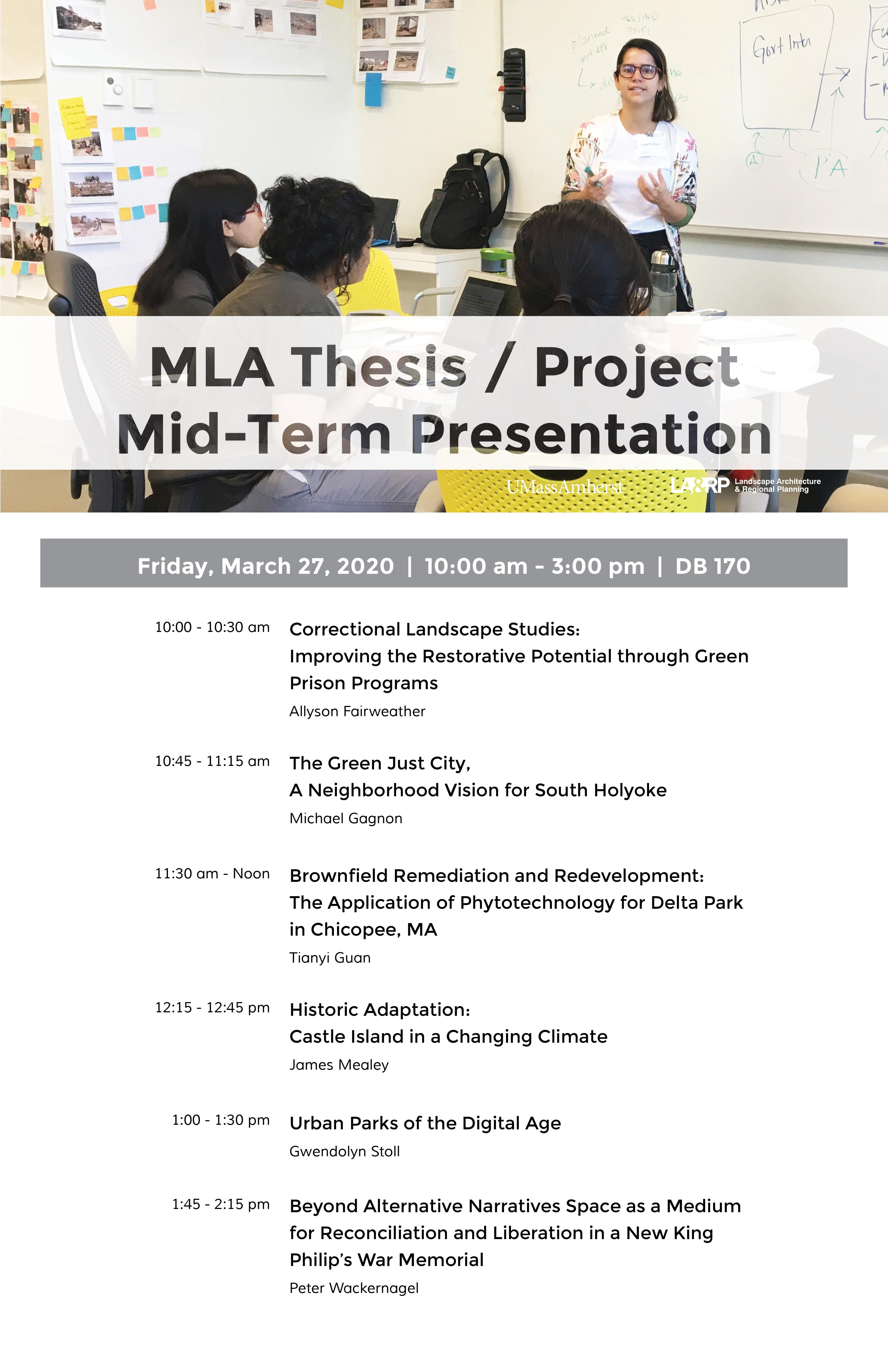 MLA thesis project presentation 3_27_20