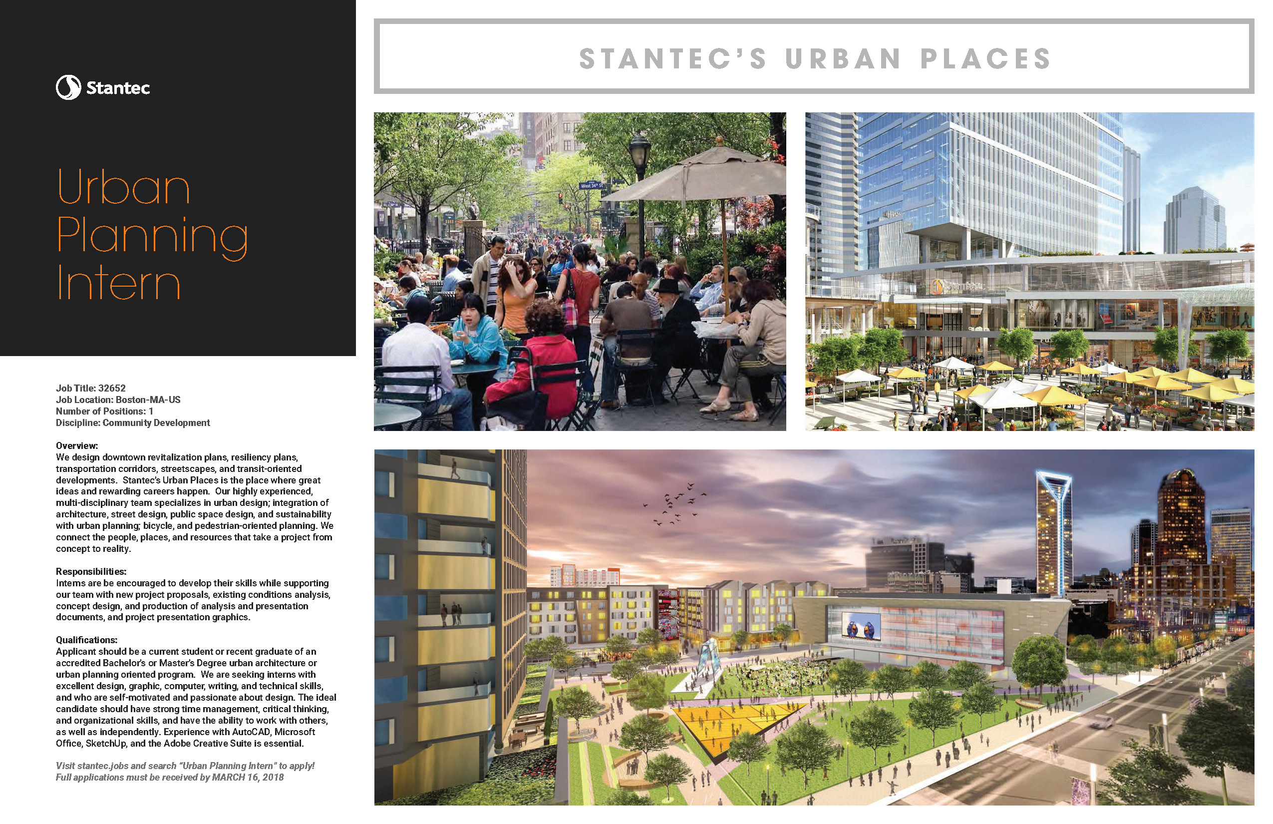 Poster_Stantec Urban Planning Internship