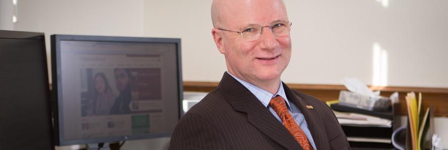Interim Provost John McCarthy