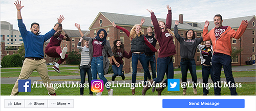Living at UMass Facebook