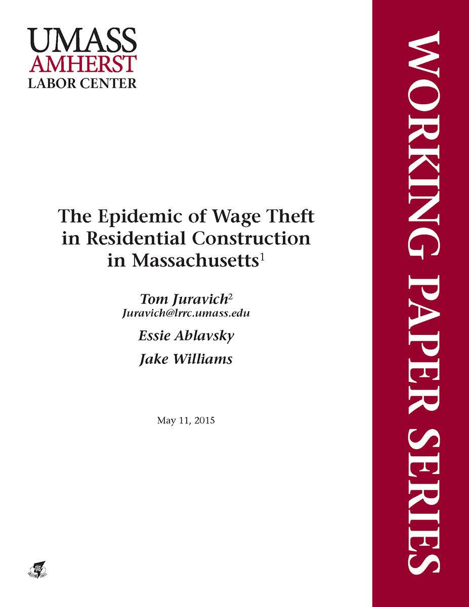 Wage Theft Cover