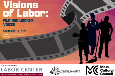 Visions of Labor Banner with Logos