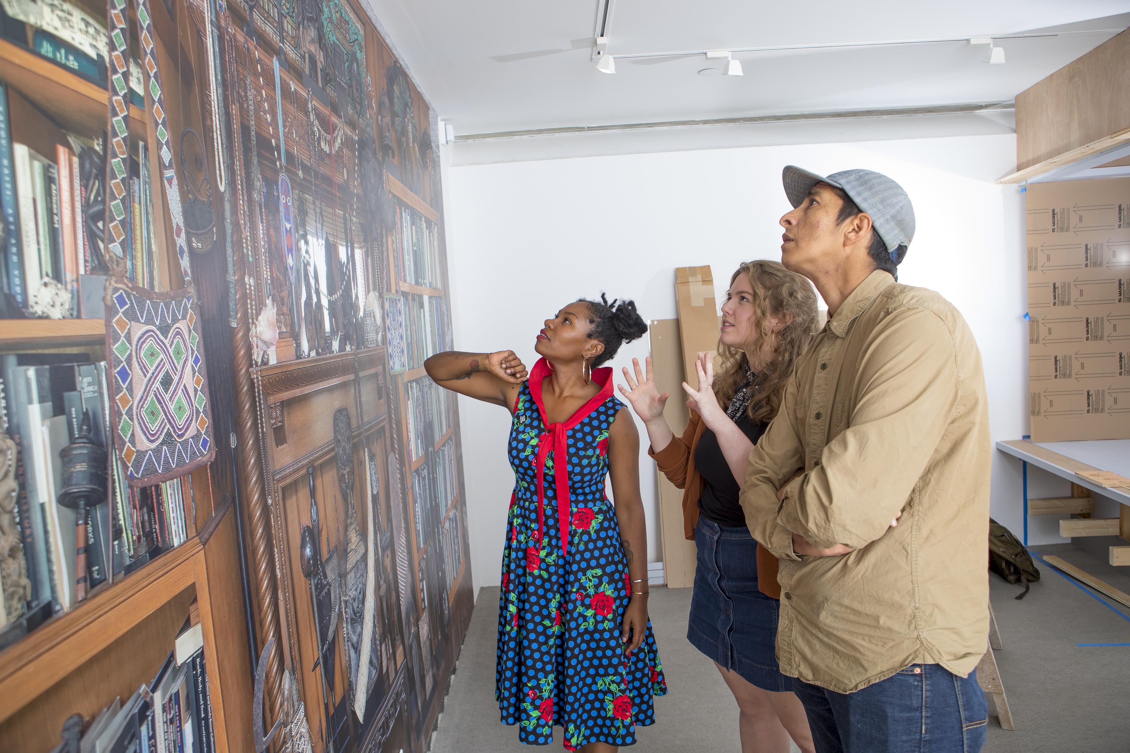 Student curators