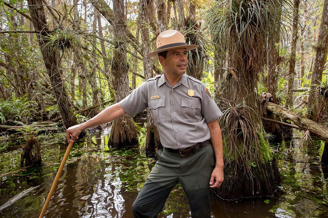 Pedro Ramos in the Everglades