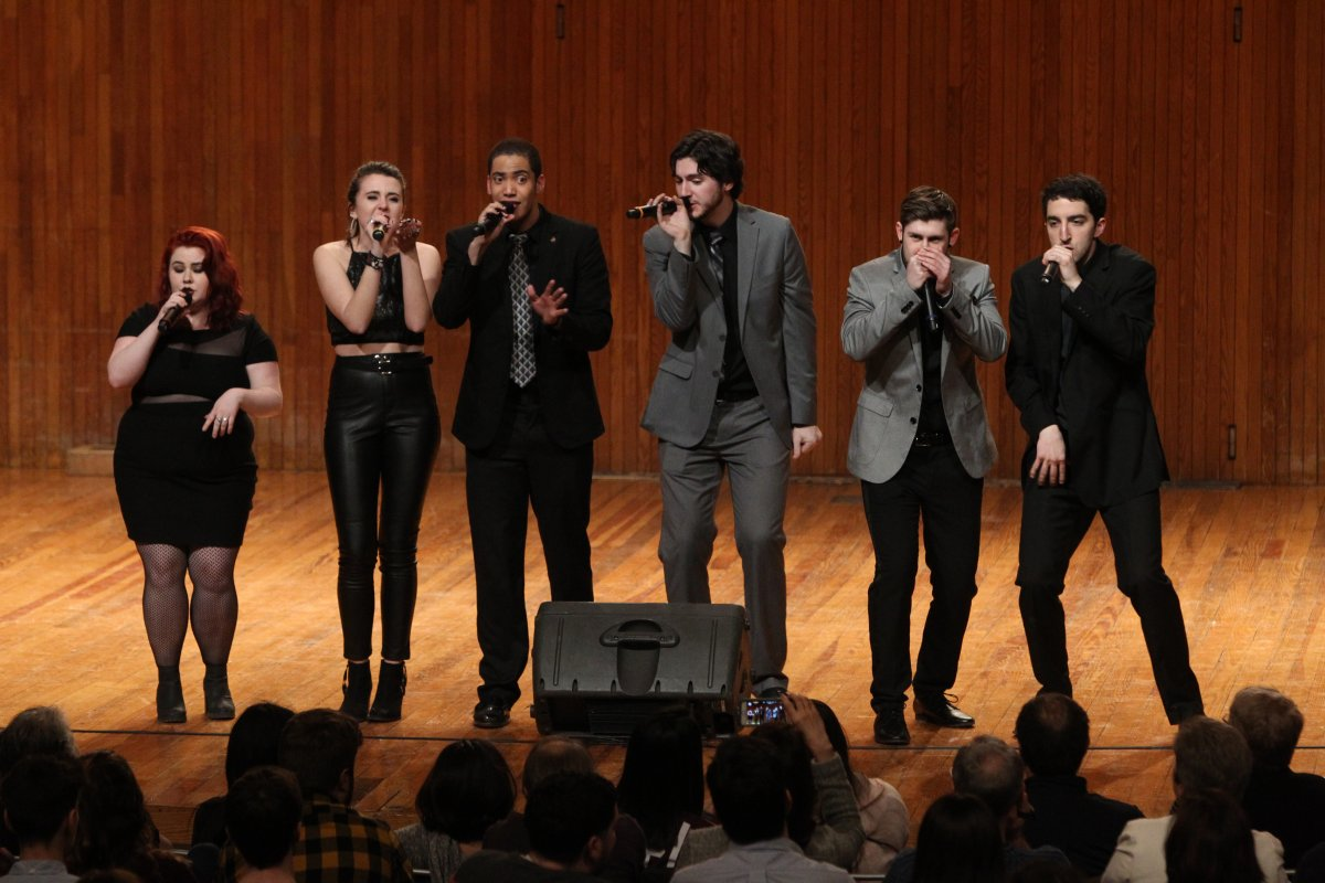 UMass Amherst a cappella group Hexachords