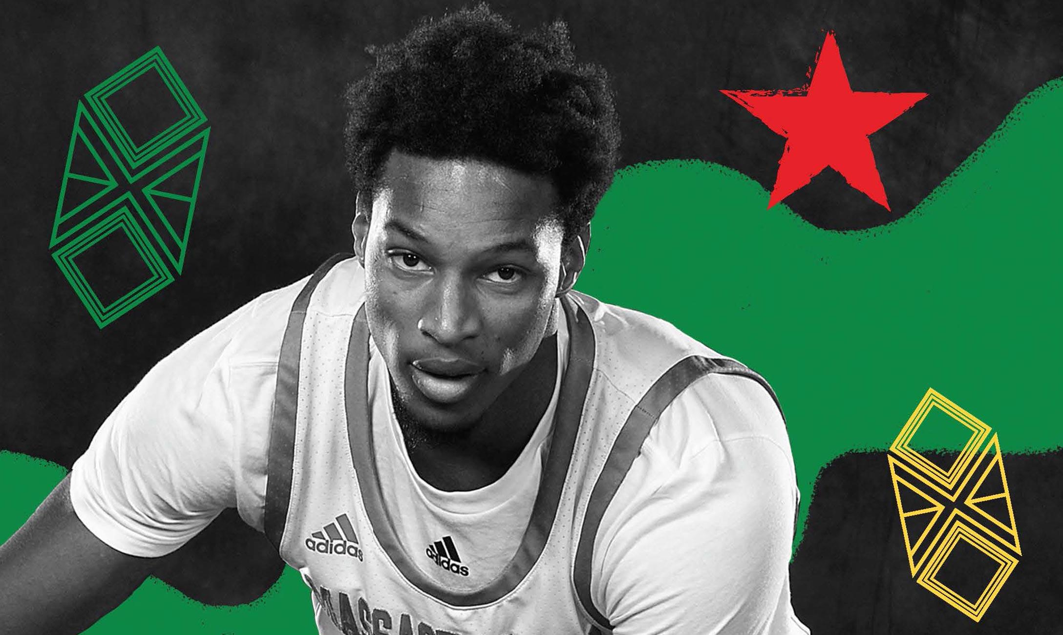 Headshot of basketball player