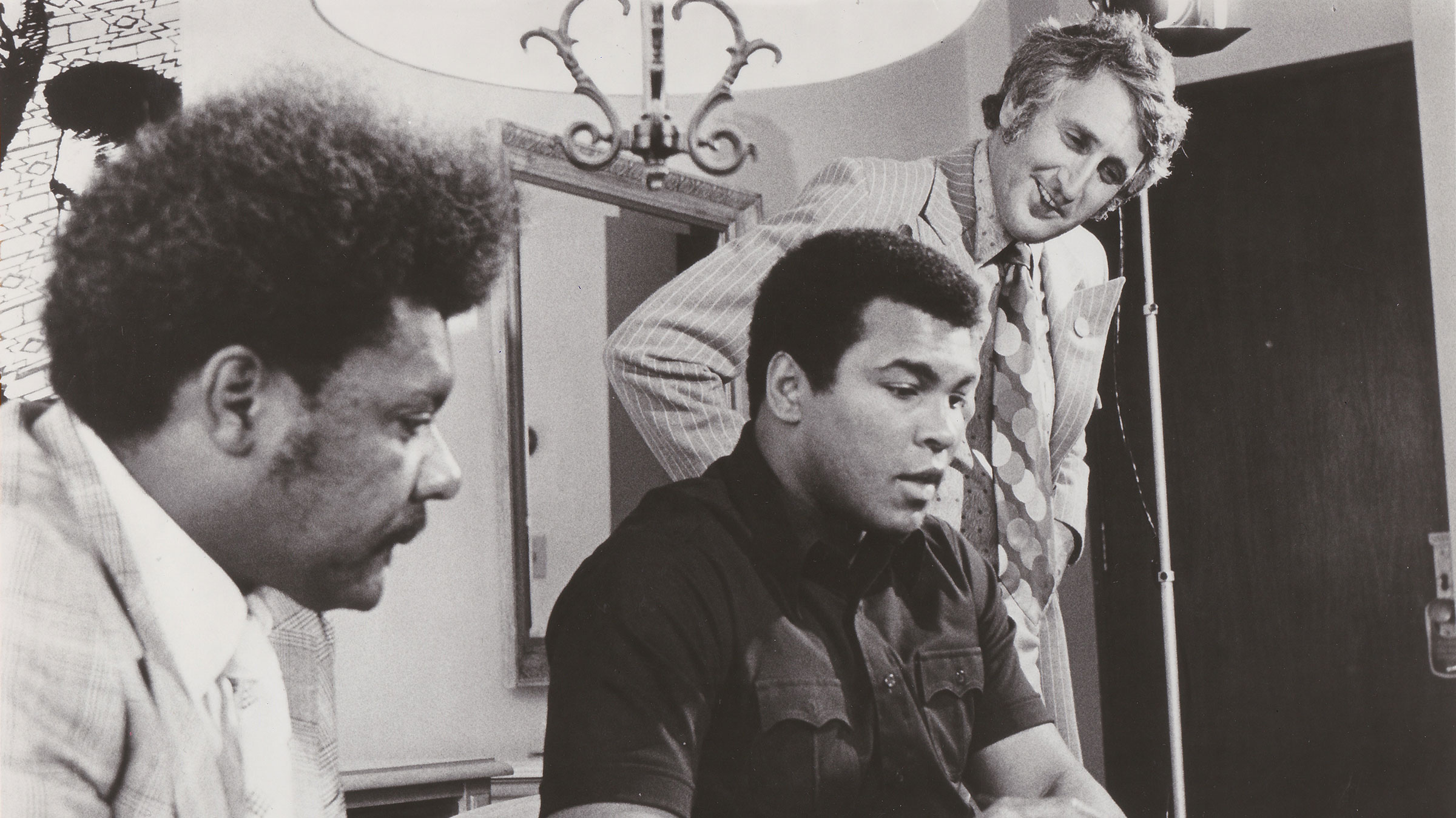 Shelly Saltman with Muhammad Ali