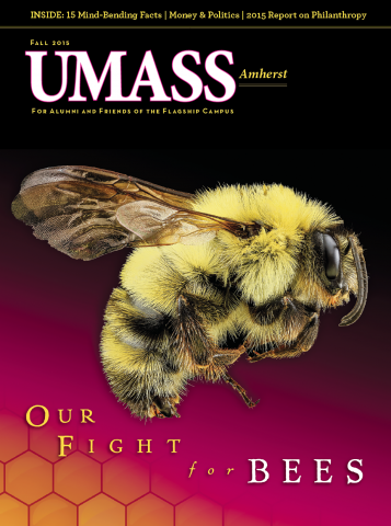 UMass Amherst Fall 2015 Magazine