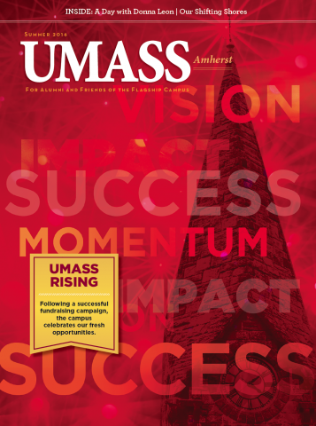 UMass Amherst Summer 2016 Magazine