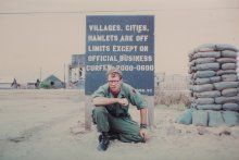 UMass Amherst alumnus Robert Schmid class of 1974 photo in Vietnam.