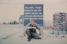 UMass Amherst alumnus Robert Schmid class of 1974 photo in Vietnam.