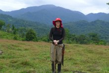 UMass Amherst PhD student Carolina Sáenz-Bolaños in Costa Rica
