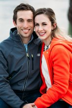 Alyson Warr '15; engaged to John Manteiga '15. (Read their story earlier in the article.)