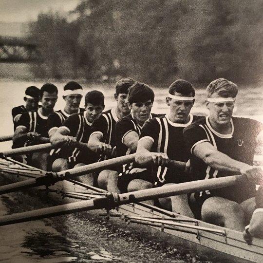 UMass Amherst rowers