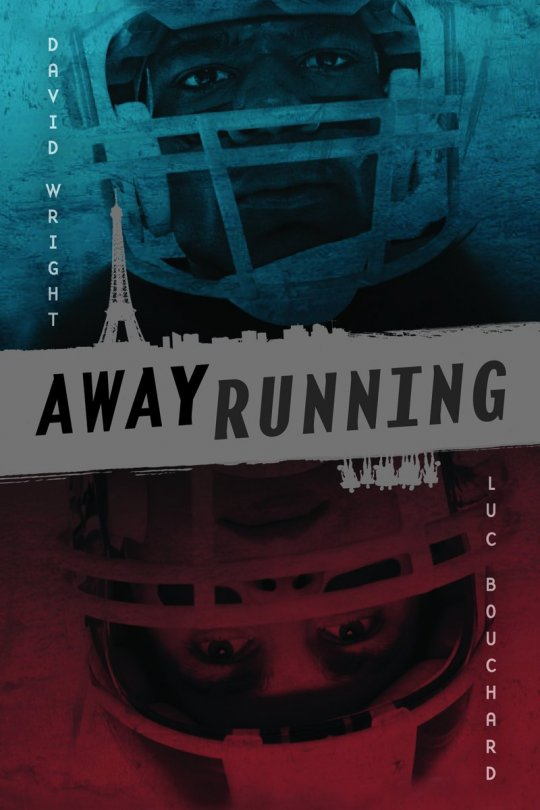 Book cover of 'Away Running'