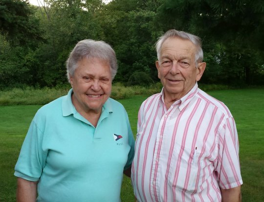 Marilyn (Moser) Barstow '49 and Arthur Barstow '51