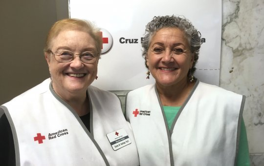 Donna Hastings and Maria (Josy) Latorre