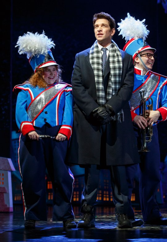 A scene from the Broadway production of Groundhog Day