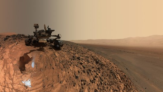 NASA's Curiosity rover on Mars