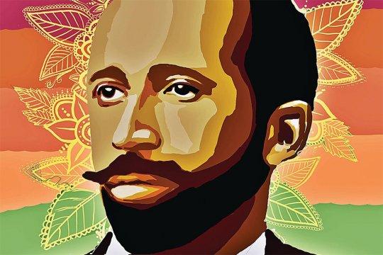 Artistic rendering of W.E.B. Du Bois.