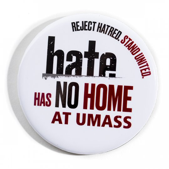 Button for the Hate has No Home campaign