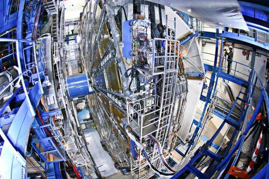 A view of the Large Hadron Collider