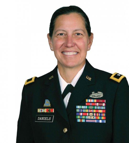 Lieutenant General Jody J. Daniels in uniform.