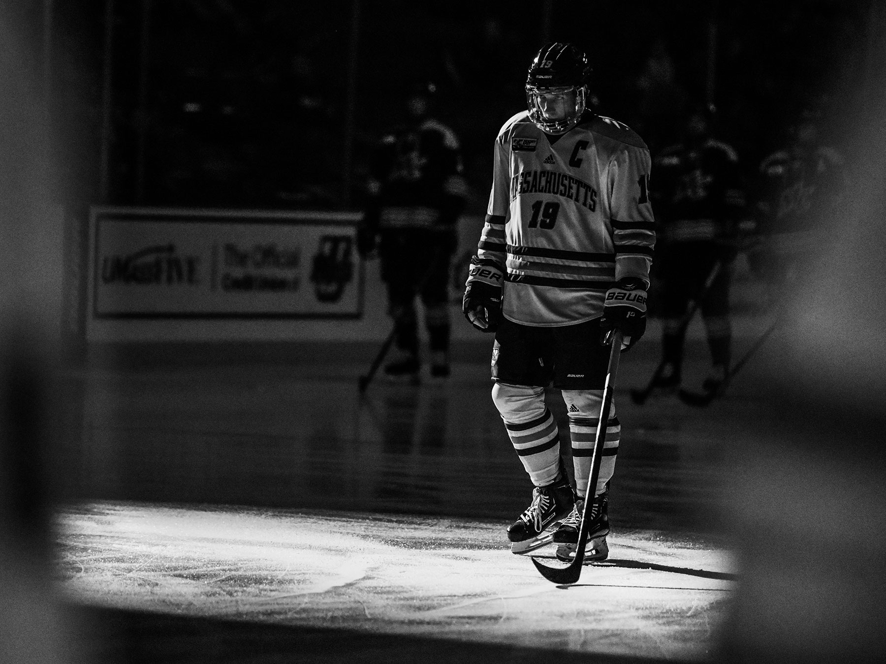 Niko Hildenbrand, UMass hockey