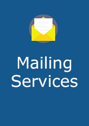 Mailing Services Form