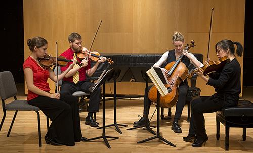 Graduate String Quartet Program | Department of Music