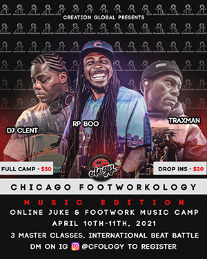 Chicago Footworkology poster