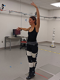 A dancer in the Lab