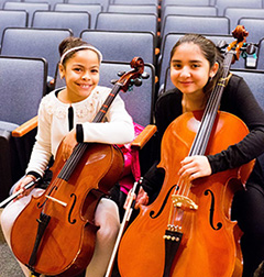 Students from Music Haven