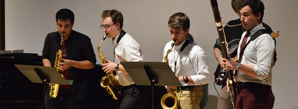 Saxophone chamber music
