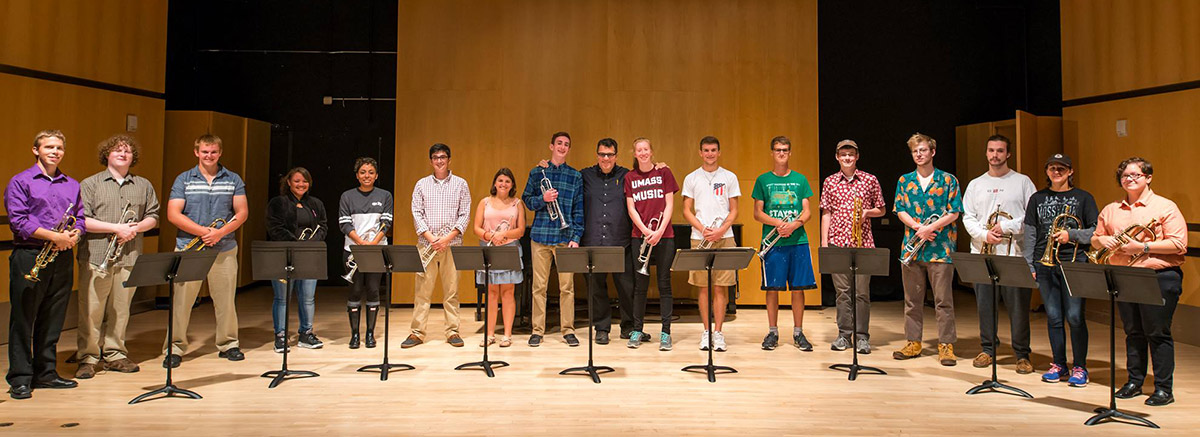 Trumpet Studio with Prof. Eric Berlin