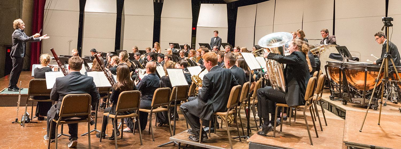 Wind Ensemble, Matthew Westgate, conductor