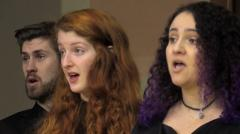 Chamber Choir Chapel Performance