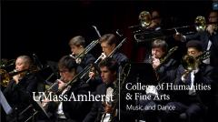 "UMass Trombone Choir Performs an Excerpt from ""Full Tilt"" by Anthony DiLorenzo"