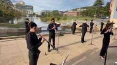 "UMass Wind Ensemble Fall 2020 - Susato's ""La Morisque"""